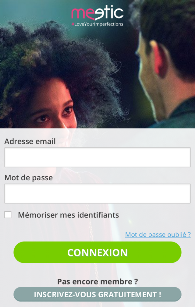 Connection Meetic